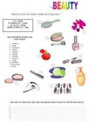 hair care vocabulary worksheet salon hairdressing