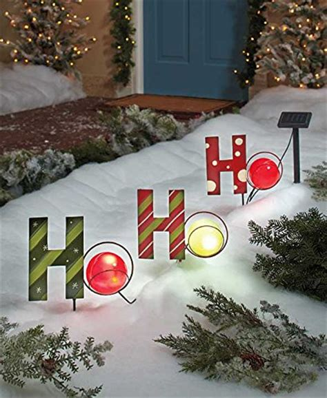 solar powered christmas decorations