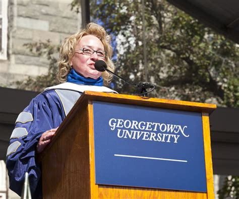Georgetown Mba Diversity Weekend by Center Speaker Talks To Class Of 2012 About