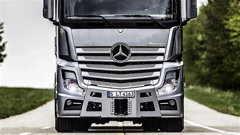Mercedes Truck 2019 by 2019 Mercedes Actros The Most Hi Tech Truck