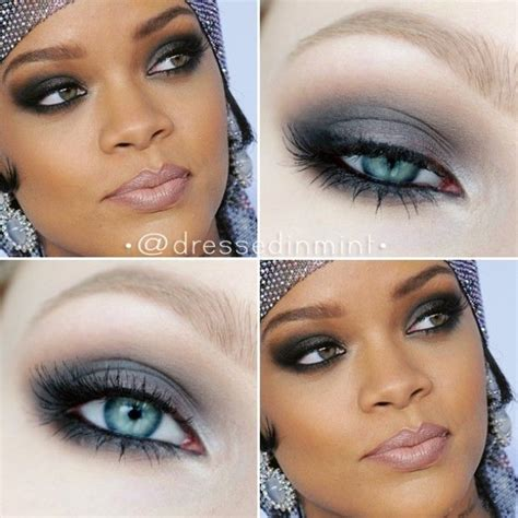 eyeliner tattoo new york rihanna cfda inspired makeup using