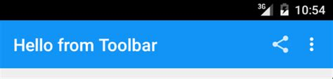 toolbar for android android tips hello toolbar goodbye bar xamarin