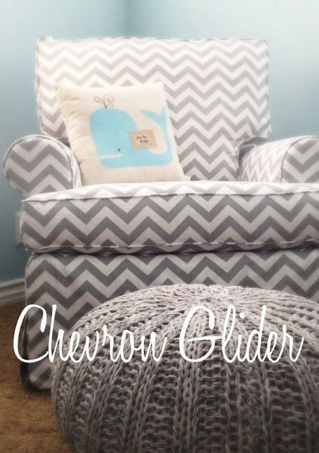 grey and white glider and ottoman grey white chevron print nursery glider exactly what