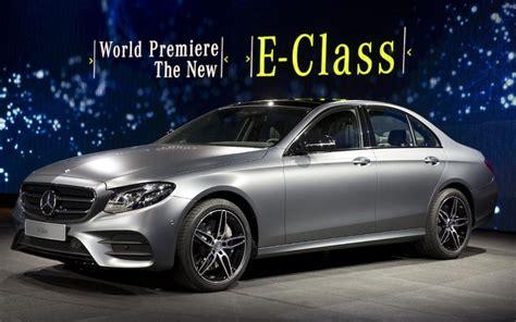 new mercedes e class revealed