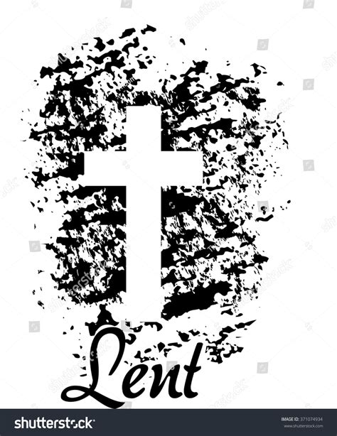 word made lent a scriptural encounter for ash wednesday through easter books lent symbol cross ashes illustration vector stock vector