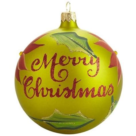 european merry christmas ornament happy holidays pinterest
