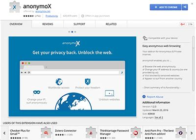 chrome anonymox chrome anonymox different topics and kinds of advises