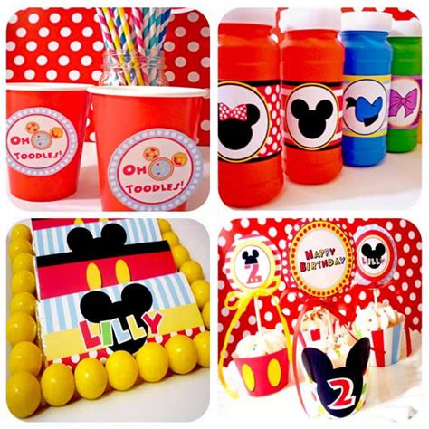 mickey mouse clubhouse printable birthday decorations printable mickey mouse birthday decorations printable mickey