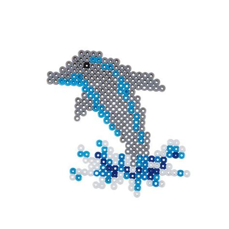 dolphin bead designs make this majestic jumping dolphin with perler 174 and