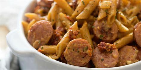 pasta sausage best sun dried tomato sausage pasta recipe how to make