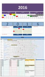 Ms Office Calendar Templates by Free 2016 Excel Calendars Template