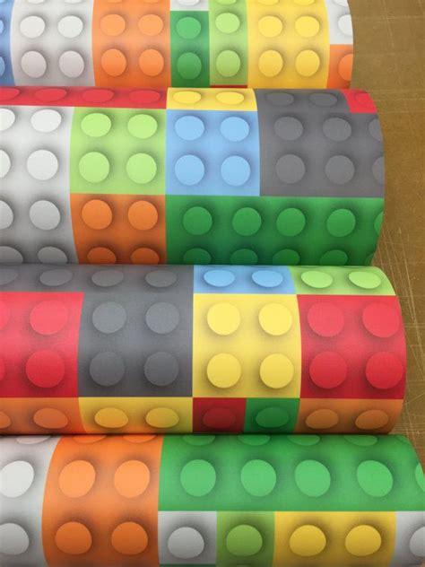 removable wallpaper peel  stick wallpaper lego