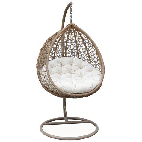 bentley garden wicker rattan patio hanging swing chair seat black brown ebay