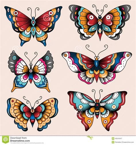 old school traditional tattoo designs 25 best ideas about traditional butterfly tattoo on