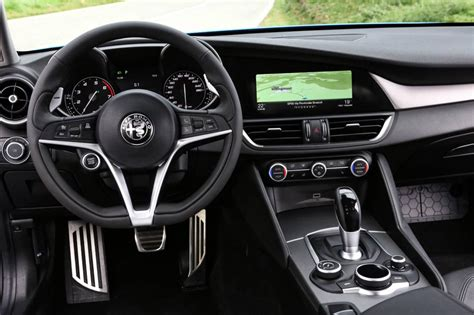 alfa romeo giulia interior alfa romeo giulia now on sale in australia from 59 895