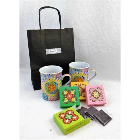 Set Choco set gaud 237 mugs choco gaudi barcelona shop