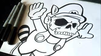 mario bros graffiti zaxx