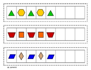 pattern block activities online 17 best images about pattern blocks on pinterest math