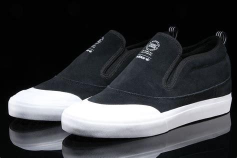 Adidas Slip On Suede adidas matchcourt mid slip black suede sneaker bar detroit