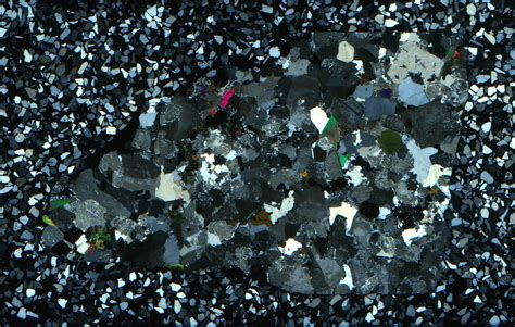 oligoclase thin section thin section scans rockptx
