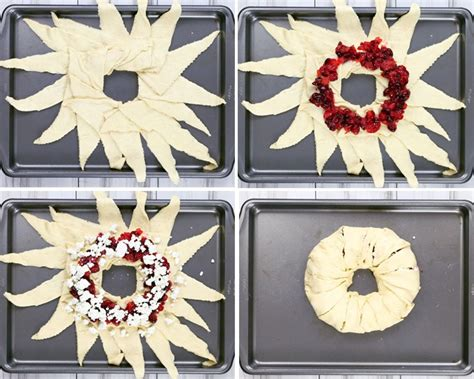 Ring Cheese Familk Pack Isi 10 Bungkus Keju cranberry goat cheese crescent ring plus 187 honey and birch