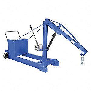 mobile floor crane catalogue vestil mobile floor crane counterbalance 1000lb 5xpg4