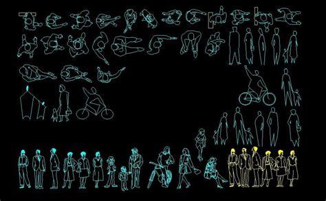 people human figures men  women elevation  plan