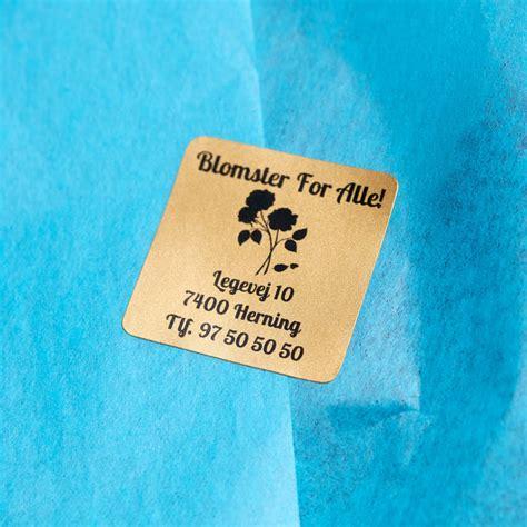Logo Aufkleber Auf Rolle by Aufkleber Mit Logo Selbst Gestalten Ikast Etikett