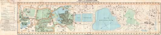 Map Of Central New York by File 1860 Pocket Map Of Central Park New York City