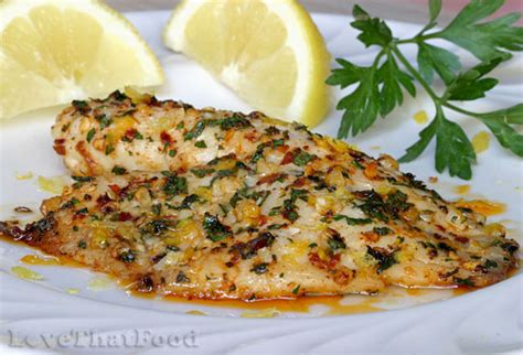 baked garlic lemon tilapia recipes dishmaps