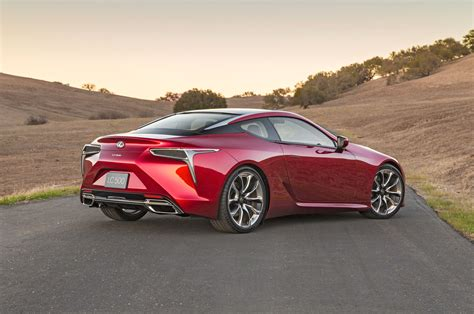 lexus new 2018 2018 lexus lc 500 first look review photo image gallery
