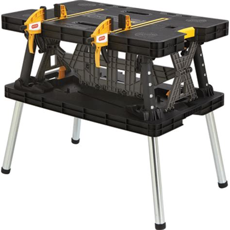 keter folding bench keter folding work table 33 1 2in l x 21 3 4in w x 29 3