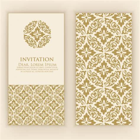 free invitation card designs 4 invitation card design vector premium