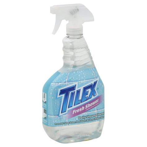 tilex fresh shower daily shower cleaner original trigger spray