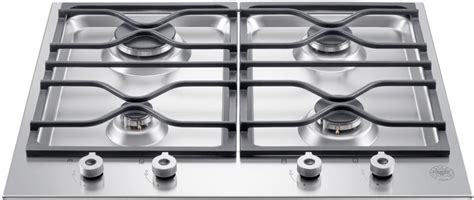 24 In Gas Cooktop - bertazzoni pm24400x 24 inch gas cooktop with 4 sealed
