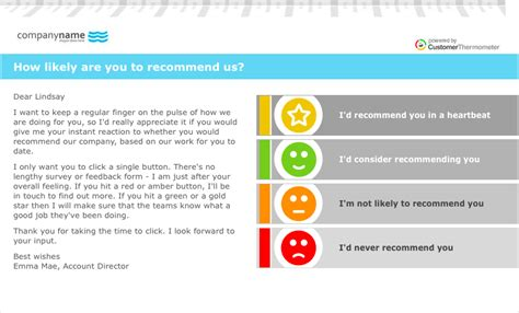 net promoter score survey template nps survey email template how to make fast money toronto