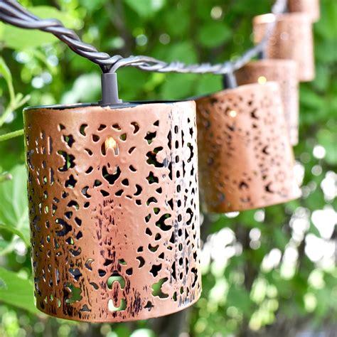 metal string lights designer lights designer string lights metal