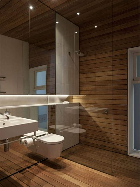 badezimmer gestalten badezimmer wand und fu 223 boden aus holz bad