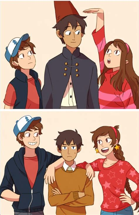 Norman The Garden Wall The Garden Wall X Gravity Falls Dipper And Mabel And