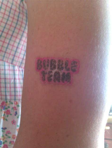 gum tattoo debbie s writing