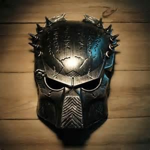 Mens Masquerade Mask Template by Cool Predator Masquerade Masks Props Silver