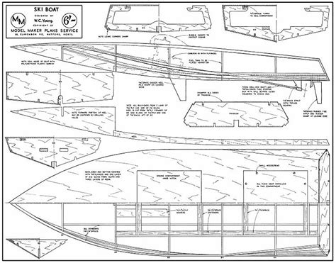electric boat plans free ski boat plans aerofred download free model airplane plans