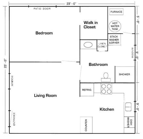 mother in law suite 20 x20 apt floor plan mother in law suite picture