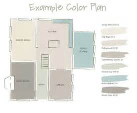 color schemes for open floor plans a whole house paint color plan meadow lake road