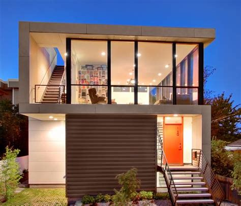 Modern Home Design On A Budget by Best 25 Small Modern Houses Ideas On Pinterest Modern