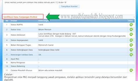 cek info ptk 2015 2016 cek ptk 2016 paud baitul fiqri nasional kadubongkok