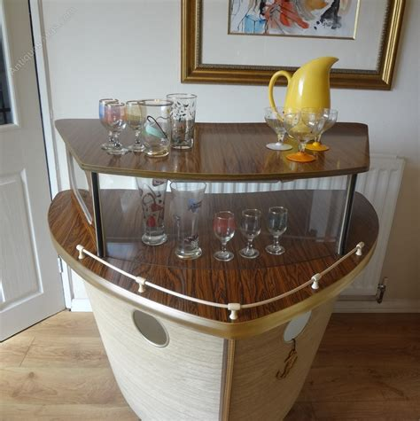 antiques atlas mid century boat cocktail bar