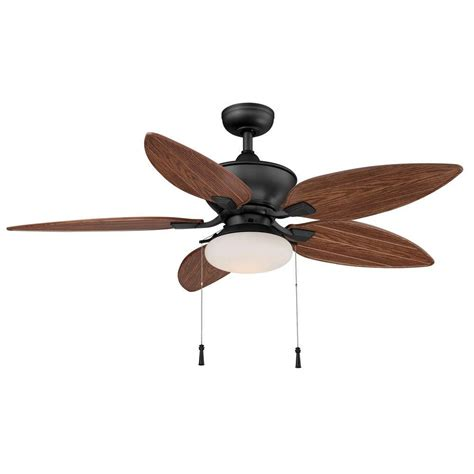 Iron Ceiling Fans by Hton Bay Yg115 Ni Edgewater Ii 52 In Indoor Outdoor Iron Ceiling Fan Pppae Avi