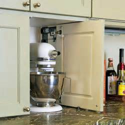 kitchen cabinet appliance garage options for appliance garages