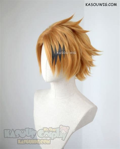 kasou wig  hero academia kaminari denki short layered